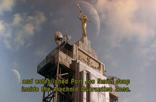 LDS Mormon References in the movie Starship Troopers 1997