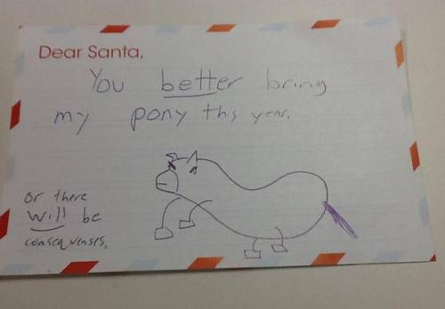 Kids Writing Funny Things