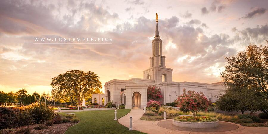 Sacramento California Temple Pictures  LDS Temple Pictures