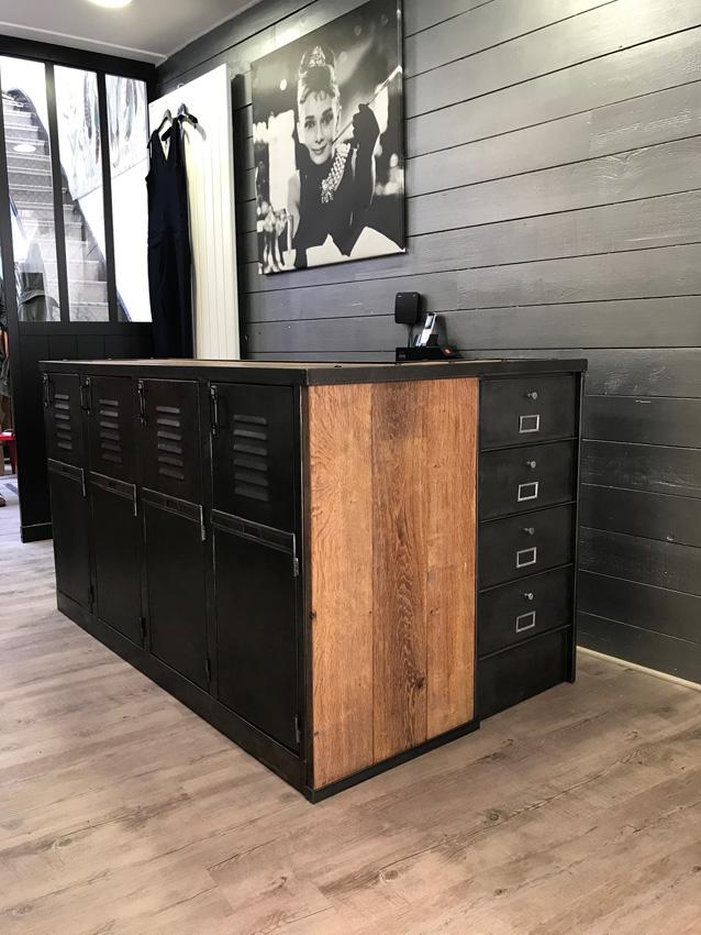 meuble separation cuisine salon