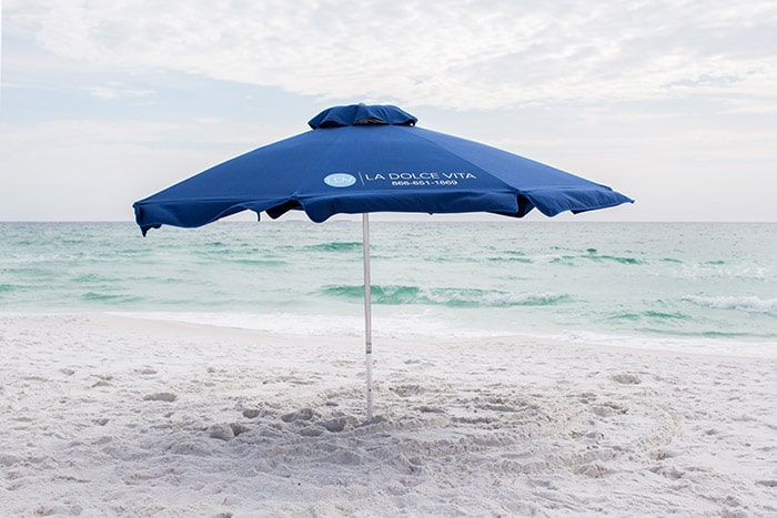 30a Beach Umbrella Rental