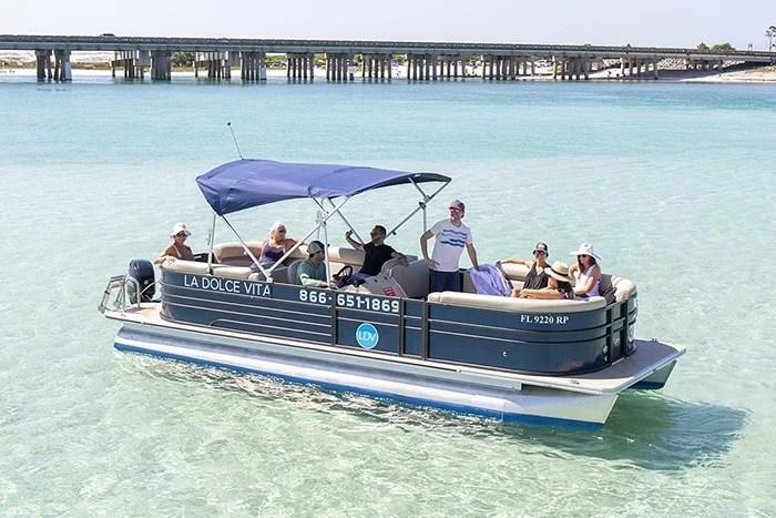 Destin Pontoon Boat Rentals - Best Prices, Newst Inventory
