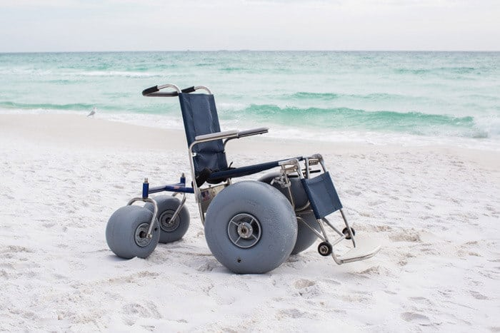 30a Rental Beach Wheelchair