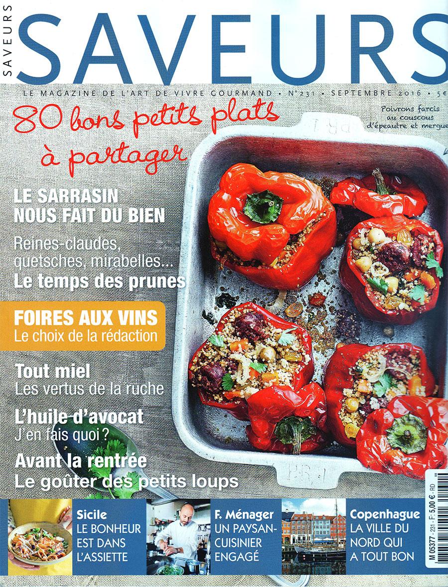 SAVEURS – Le magazine de l'art de vivre gourmand – 975