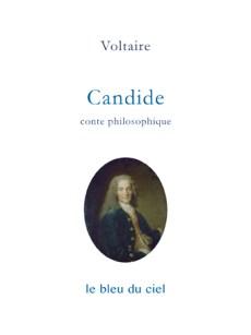 couverture du conte de Voltaire | Candide | 1759