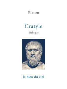 couverture du dialogue de Platon | Cratyle