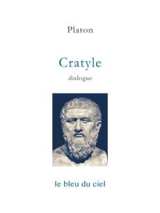 couverture du livre de Platon | Cratyle