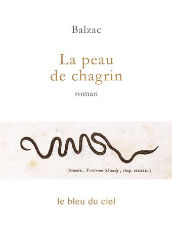 couverture du livre de Balzac | La peau de chagrin | 1831