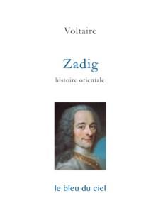 couverture du livre de Voltaire | Zadig | 1747