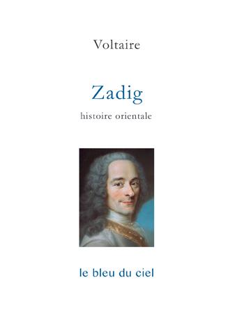 couverture du roman de Voltaire | Zadig | 1747