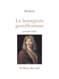 couverture de la comédie de Molière | Le bourgeois gentilhomme | 1670