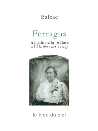 couverture du roman de Balzac | Ferragus | 1833