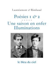 couverture du volume des Poésies de Lautréamont et Rimbaud