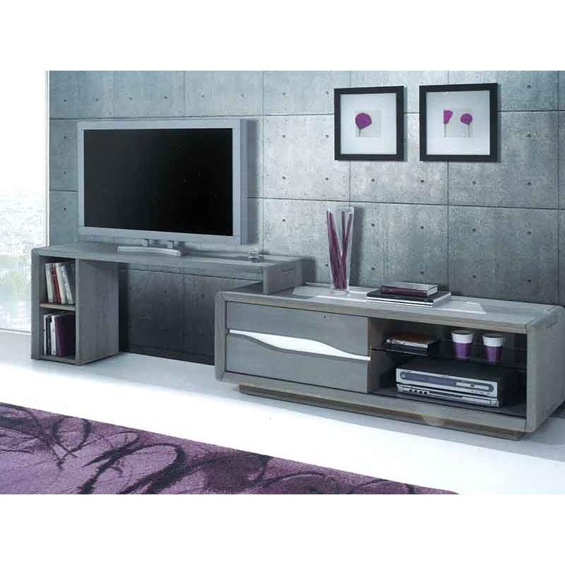support tv mobile pour meuble tv campanule le bois d antan