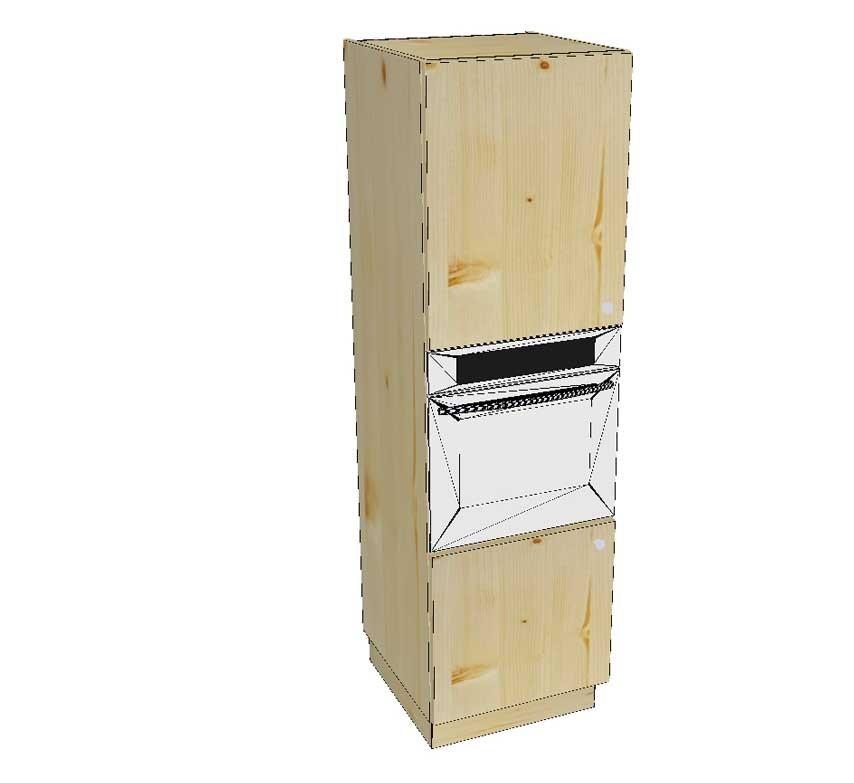 meuble colonne four le bois d antan