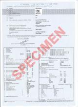 Certificat De Conformité Pour Votre Voiture étrangère
