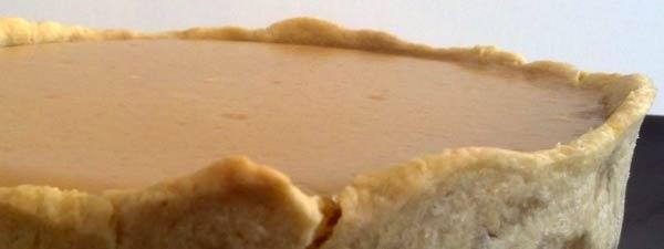 Pie de limón con relleno de Maicena