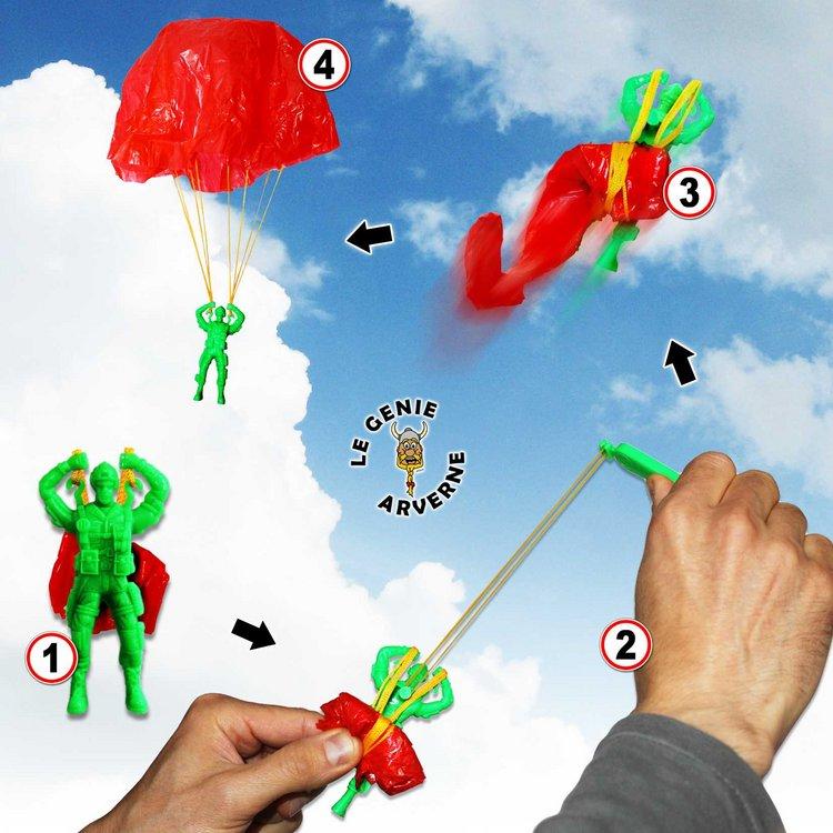 Parachutiste Commando avec Lanceur