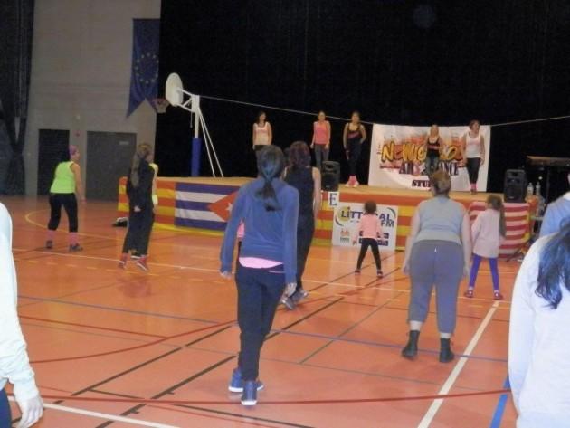 Pia : Soirée Master classe de la New Scool Dance