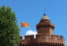 Le sommet du Castillet de Perpignan
