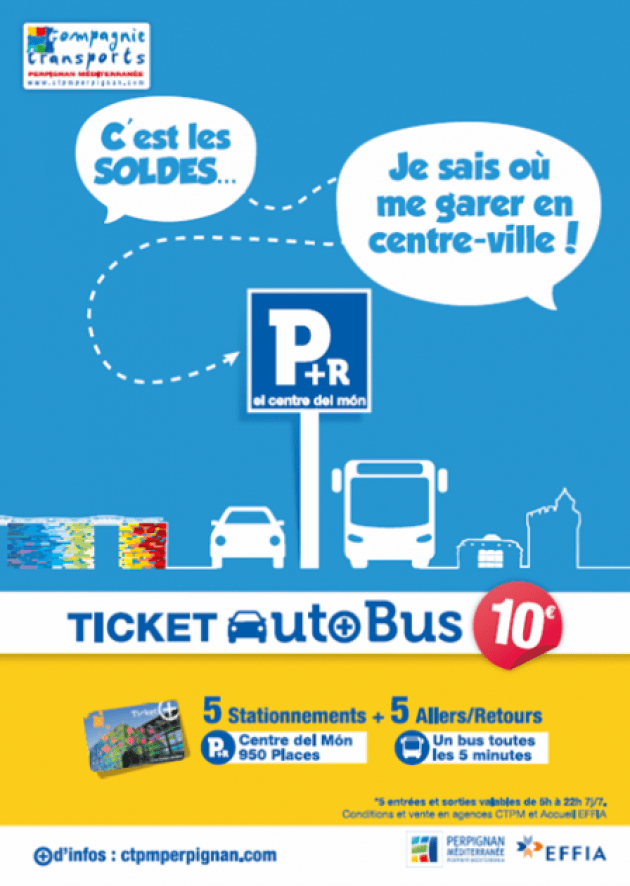 Carte Parking Bus