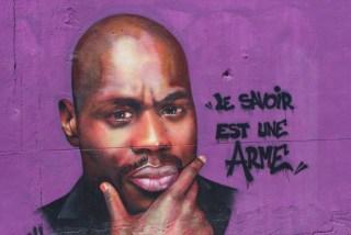Œuvre de Diips sur le mur extérieur du PIJ de Bompas – Photo © le journal catalan.com