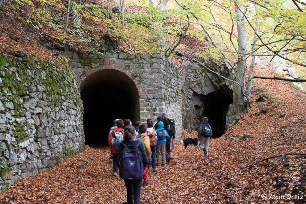 Les tunnels de la Pinouse