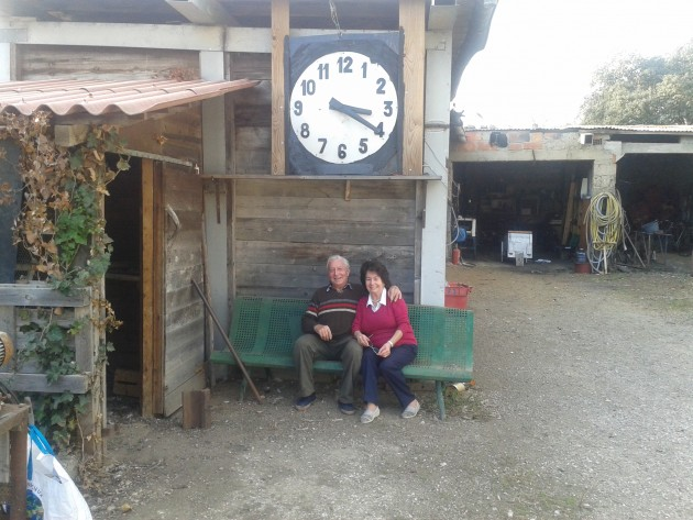 Juliette et José écoutent le temps passer