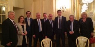 Rencontre également avec le vice-gouverneur de la région de Krasnodar, Serguei ALTOUKHOV, et son adjoint Rashid E.KUDAEV, ainsi que Igor NOSKOV , conseiller financier à l'ambassade de la Fédération de Russie en France