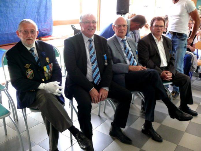 JM Berrier, J. Palacin, D. Cozette et C. Adge.