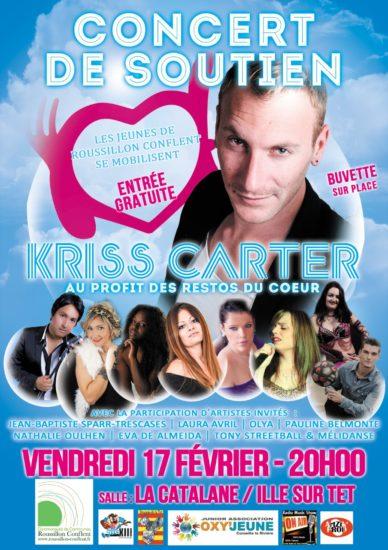 concert-profit-restos-coeur-chanteur-kriss-carter