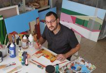 L'artiste peintre barcelonais Marcos Peinado accrochera ses toiles au Château Royal (Collioure)