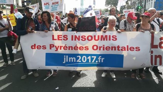 Les insoumis Catalans à Paris