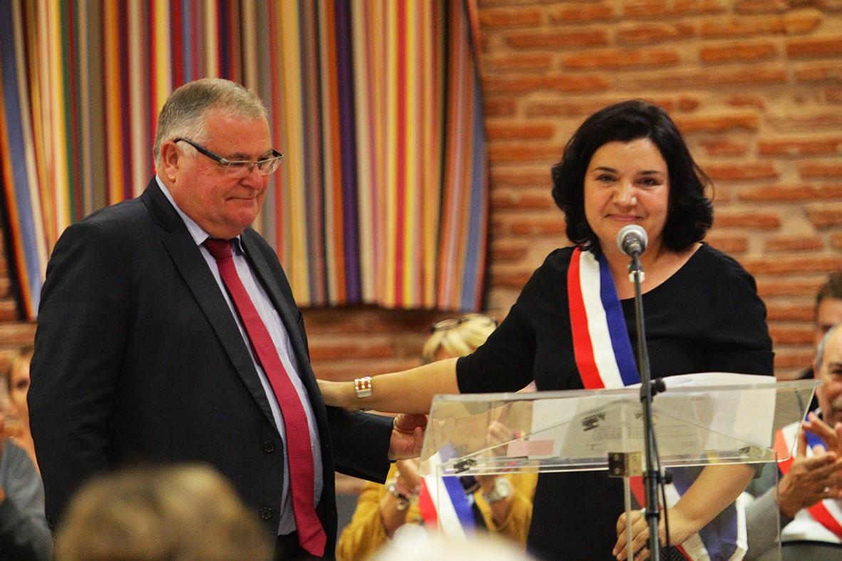 Armelle Revel-Fourcade élue 46ème Maire de la ville du Soler