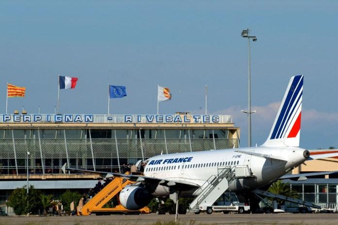 Aéroport de Perpignan : fréquentation à la baisse