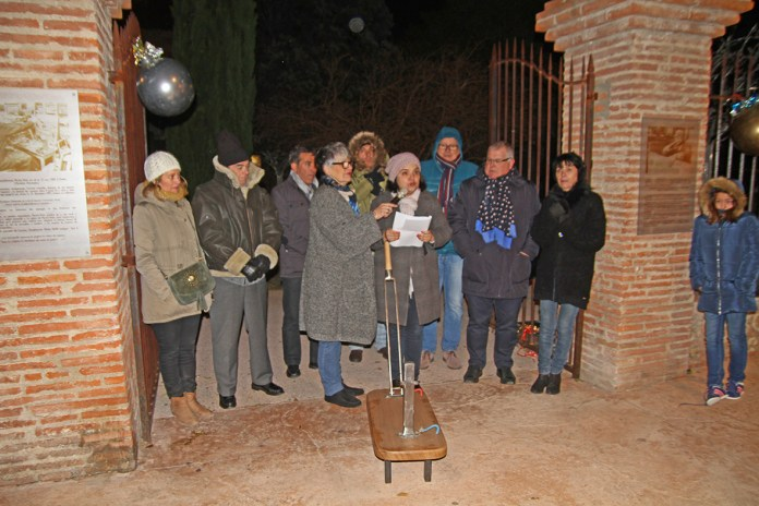 cérémonie d'illuminations de la ville du Soler aux couleurs de Noël