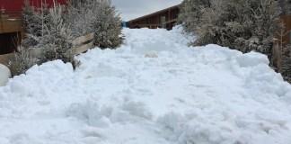 entre mer et neige ce week-end au Barcarès