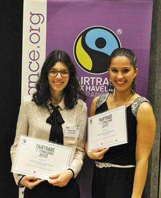 Deux étudiantes de l'IAE, Samantha De Mingo et Séverine Garrigue, ont remporté le Fairtrade film challenge organisé par Max Havelaar