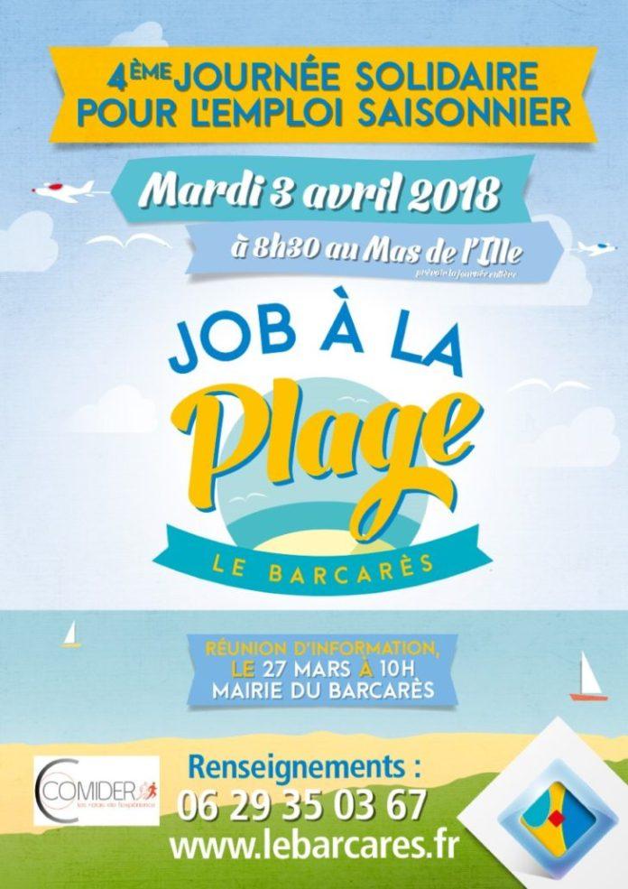 le-barcares-emploi-solidaire-job-a-la-plage-2018