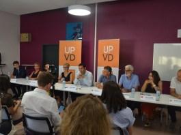 Conférence de presse UPVD 2