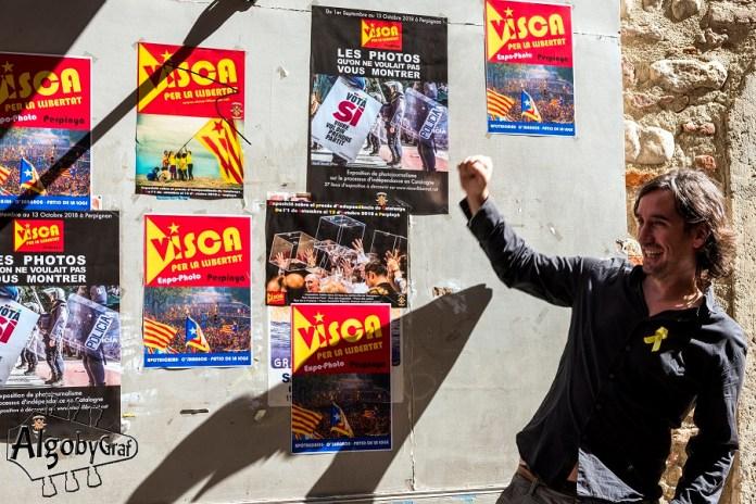 Les Angelets de la Terra présentent « Visca per la Llibertat » à Perpignan, du 1er Septembre au 13 Octobre, une exposition collective de photos dédiées au processus d'indépendance en Catalogne.