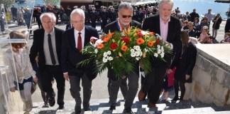 Hommage aux marins morts pour la France pendant la Grande guerre