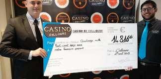 14 816 € gagnés au Casino de Collioure