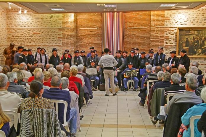 Près de 200 personnes présentes pour accueillir les « Goig del Ous » au Soler3
