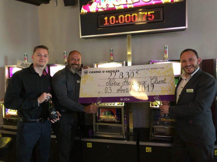 Quatre jackpots remportés dans les Casinos Joa d'Argelès-sur-Mer et du Boulou en quelques jours
