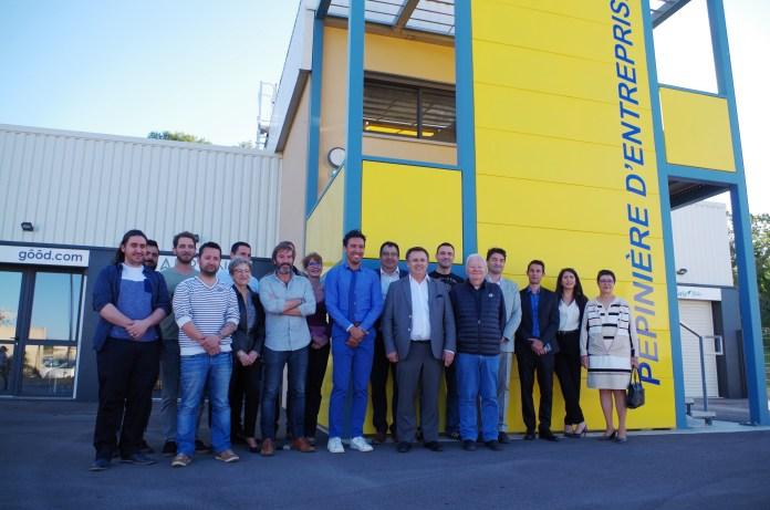 Deux nouvelles entreprises s'implantent à la pépinière Sud Roussillon