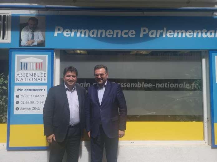 Romain Grau à la rencontre de Jean-Jacques Labadie, directeur des affaires territoriales d'Air France - KLM
