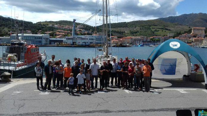 Un beau partenariat pour l'environnent subaquatique du Port de Port-Vendres