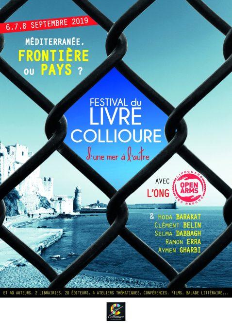« D'une mer à l'autre », festival du livre de Collioure, les 6, 7 & 8 septembre