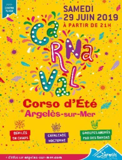 Argelès-sur-Mer fête son carnaval d'été le 29 juin3